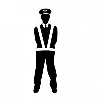 警備の員たち