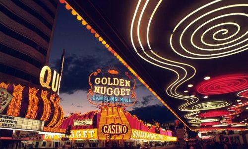 Neon merry-go-round